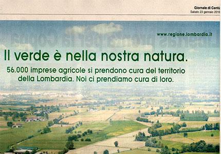 Pubblicità Regione Lombardia